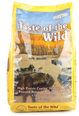 Taste Of The Wild Taste of the Wild grain free high prairie bison and venison dry dog food