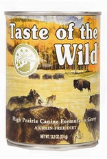 Taste Of The Wild Taste of the Wild grain free high prairie bison and venison canned dog food