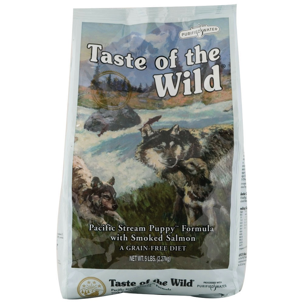 Taste Of The Wild Taste of the Wild pacific stream puppy smoked salmon dry dog food
