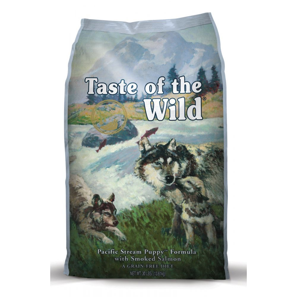 Taste Of The Wild Taste of the Wild grain free pacific stream puppy smoked salmon dry dog food