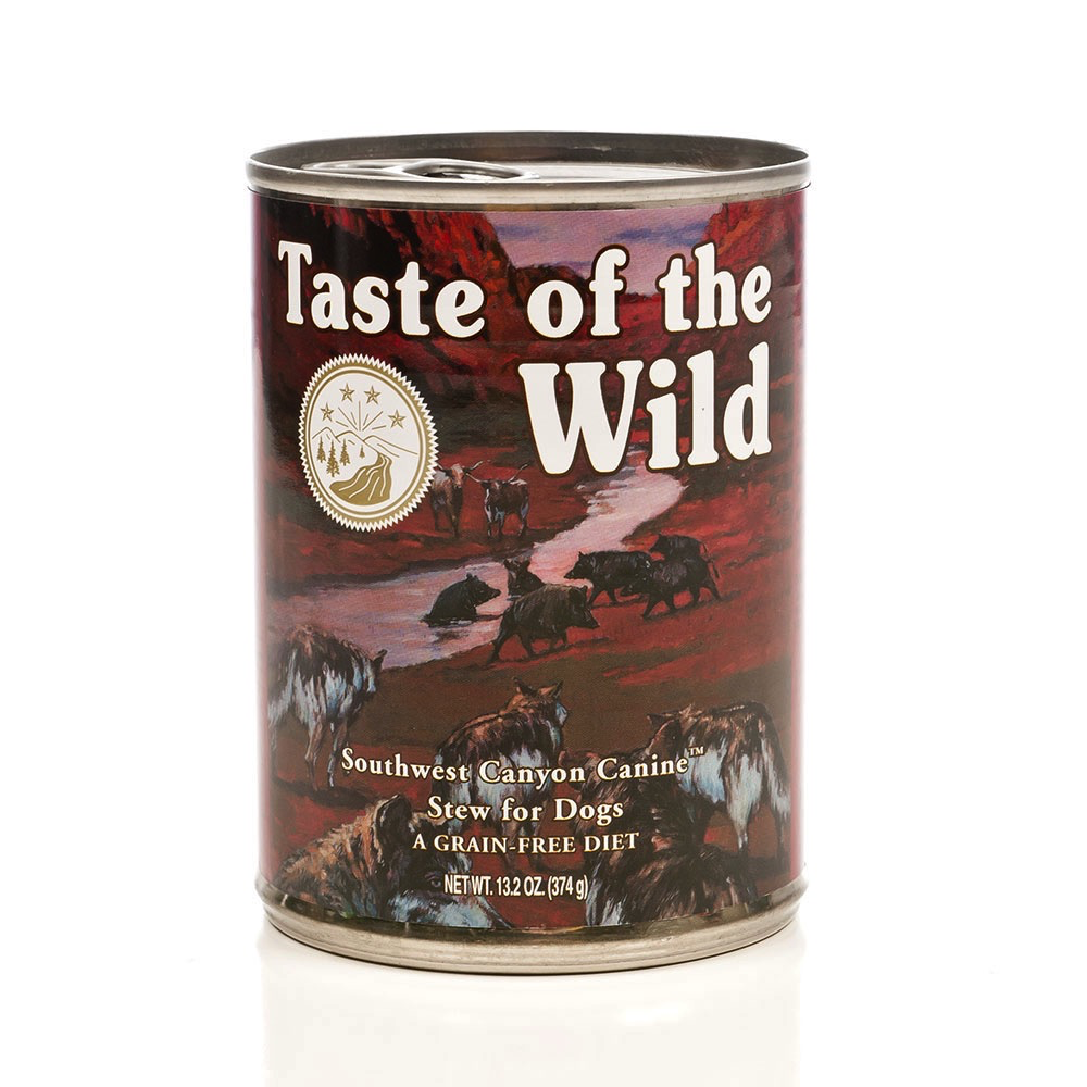 Taste Of The Wild Taste of the Wild southwest canyon beef canned dog food