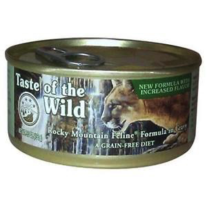 Taste Of The Wild Taste of the Wild grain free rocky mountain venison and smoked salmon cat canned food