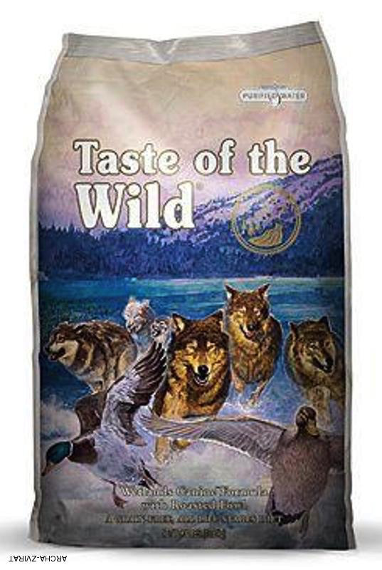 Taste Of The Wild Taste of the Wild grain free wetlands wild fowl dry dog foo 5lbs