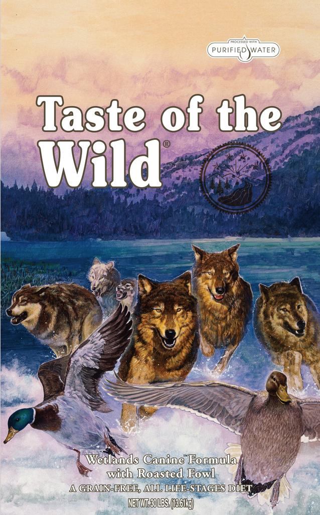 Taste Of The Wild Taste of the Wild grain free wetlands wild fowl dry dog food