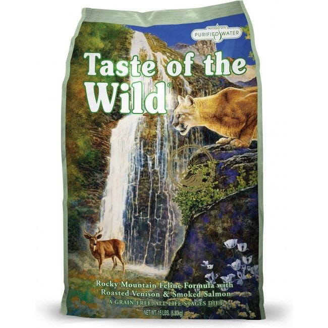 Taste Of The Wild Taste of the Wild grain free rocky mountain venison and smoked salmon dry cat food