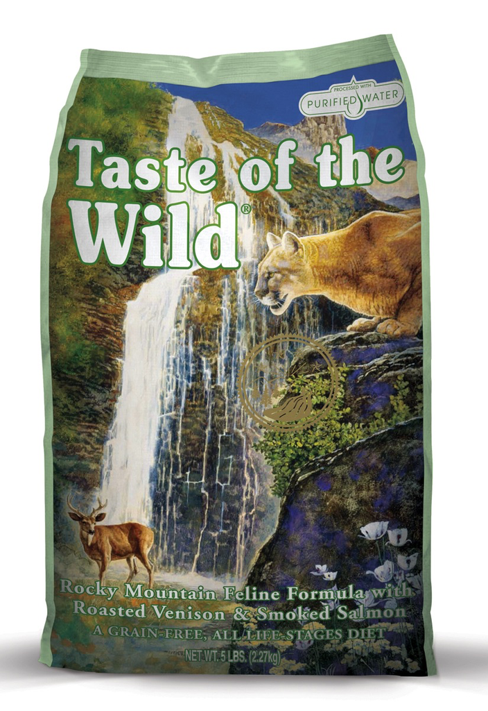 Taste Of The Wild Taste of the Wild grain free rocky mountain venison and smoked salmon dry cat food