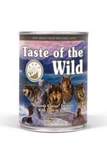 Taste Of The Wild Taste of the Wild grain free wetlands wild fowl 13oz cans