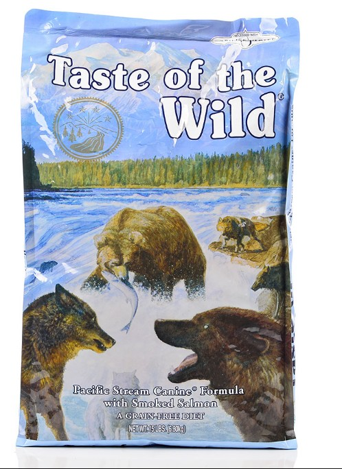 Taste Of The Wild Taste of the Wild grain free pacific stream smoked salmon dry dog food