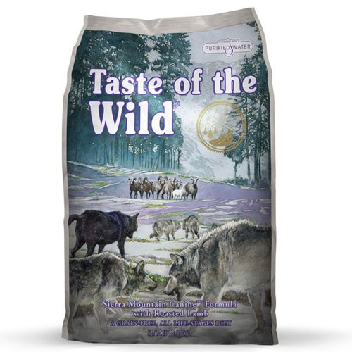 Taste Of The Wild Taste of The Wild Canine Dry sierra mountain roasted lamb 30lbs