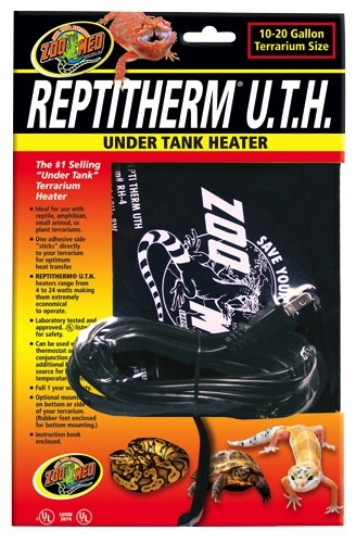 ZOO MED LABS INC Zoo Med Labs reptitherm under tank heater 50-60 gal