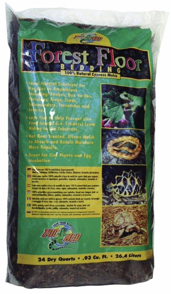 ZOO MED LABS INC Zoo Med Labs Inc bedding cypress forest floor 24qt