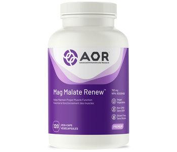 AOR - Mag Malate Renew - 120 V-Caps