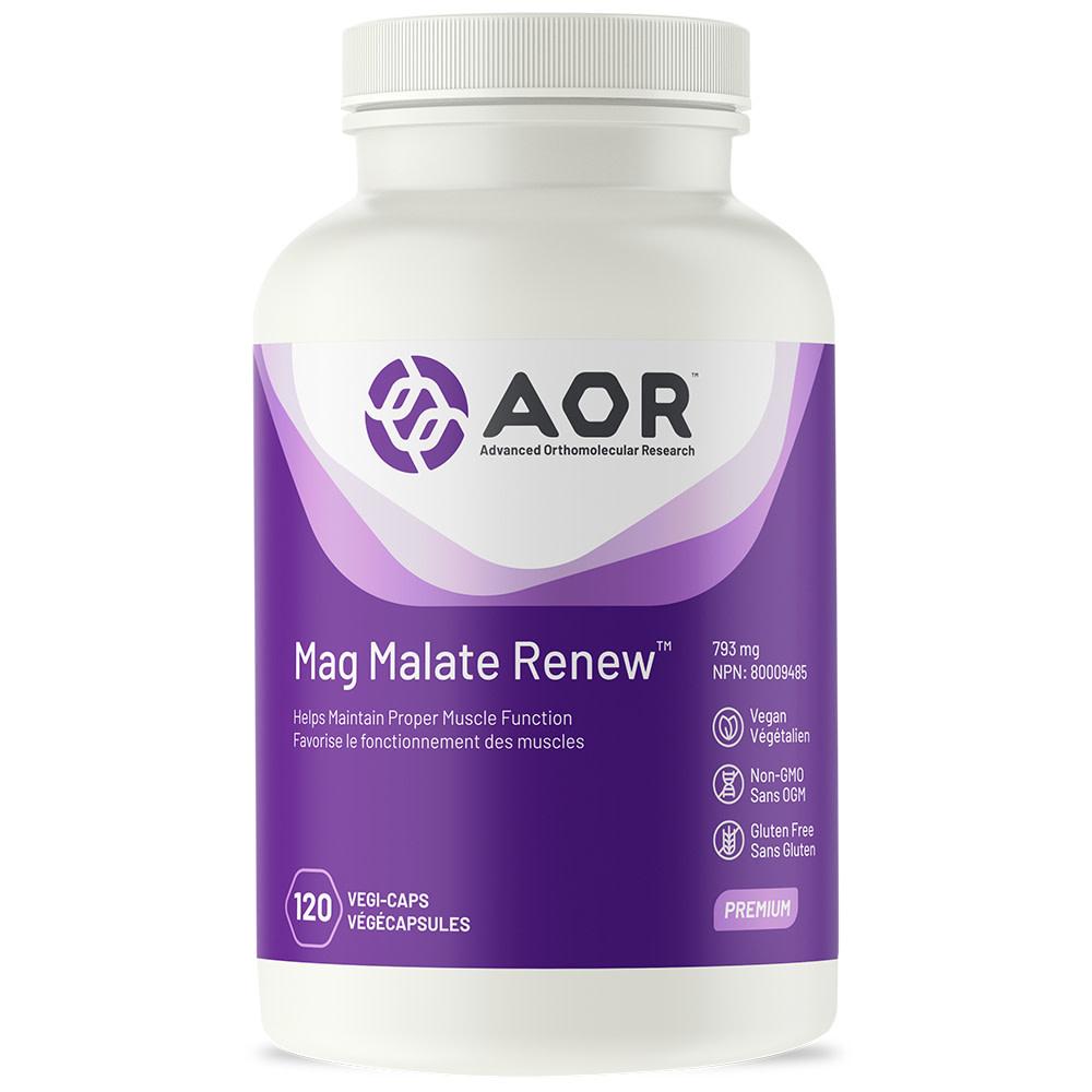 AOR AOR - Mag Malate Renew - 120 V-Caps