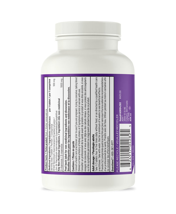 AOR - UTI Cleanse Now with Cranberry - 120 Tabs