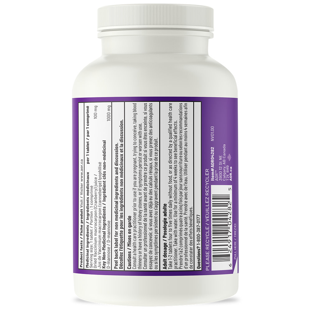 AOR AOR - UTI Cleanse Now with Cranberry - 120 Tabs