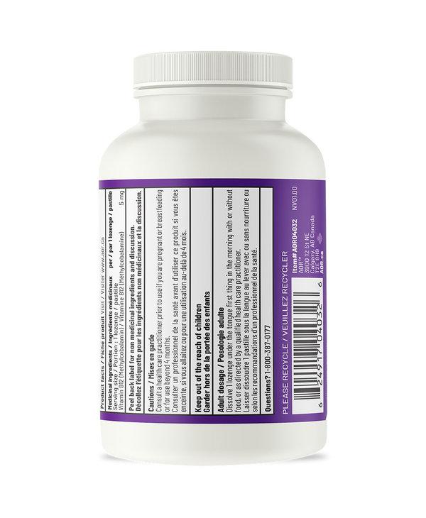 AOR - Methyl B12 5mg - 60 Lozenges