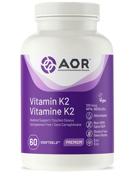 AOR AOR - Vitamin K2 - 60 V-Caps