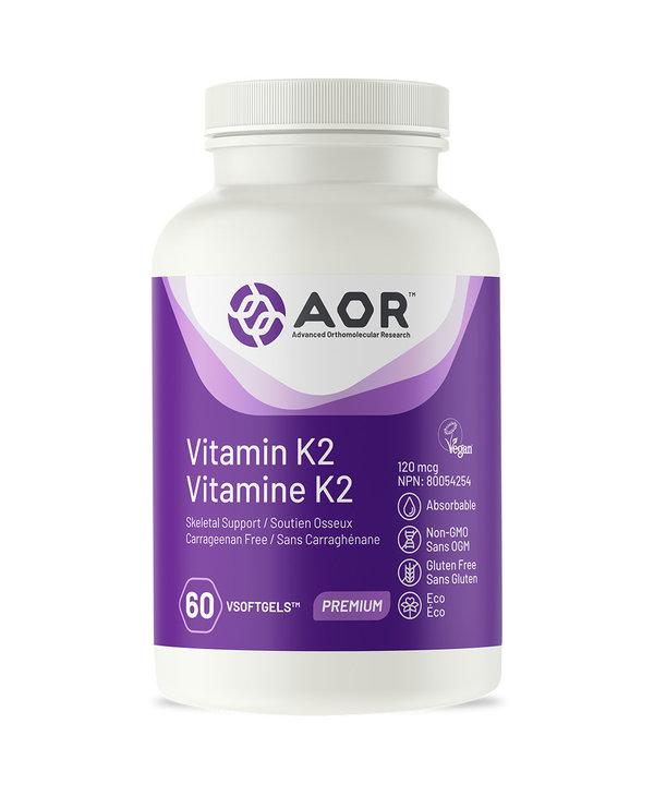 AOR - Vitamin K2 - 60 V-Caps