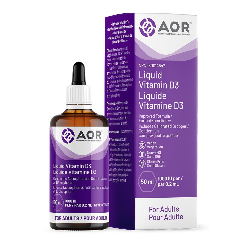 AOR AOR - Vitamin D Liquid - 50ml