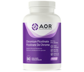 AOR - Chromium Picolinate - 90 V-Caps