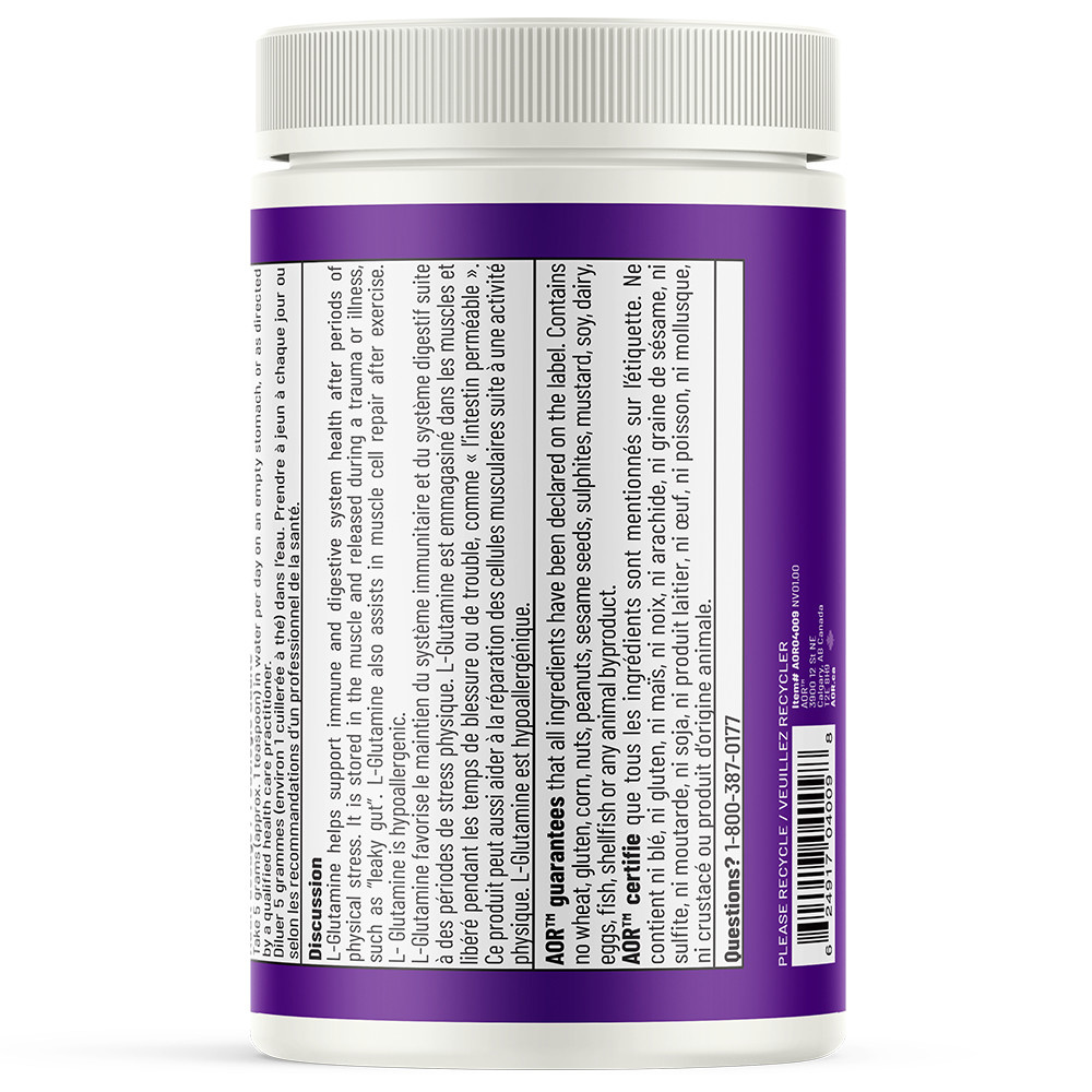 AOR AOR - L-Glutamine Powder - 454g