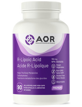 AOR AOR - R-Lipoic Acid High Dose - 60 V-Caps