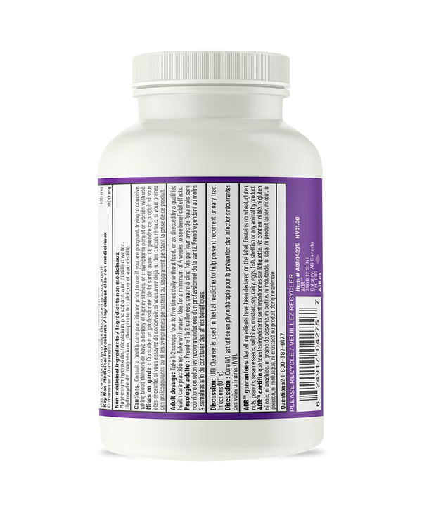 AOR - UTI Cleanse Now with Cranberry Powder - 110g