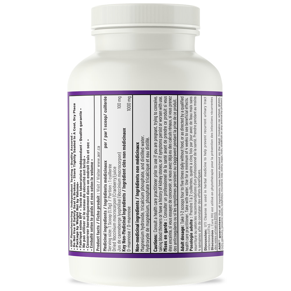 AOR AOR - UTI Cleanse Now with Cranberry Powder - 110g