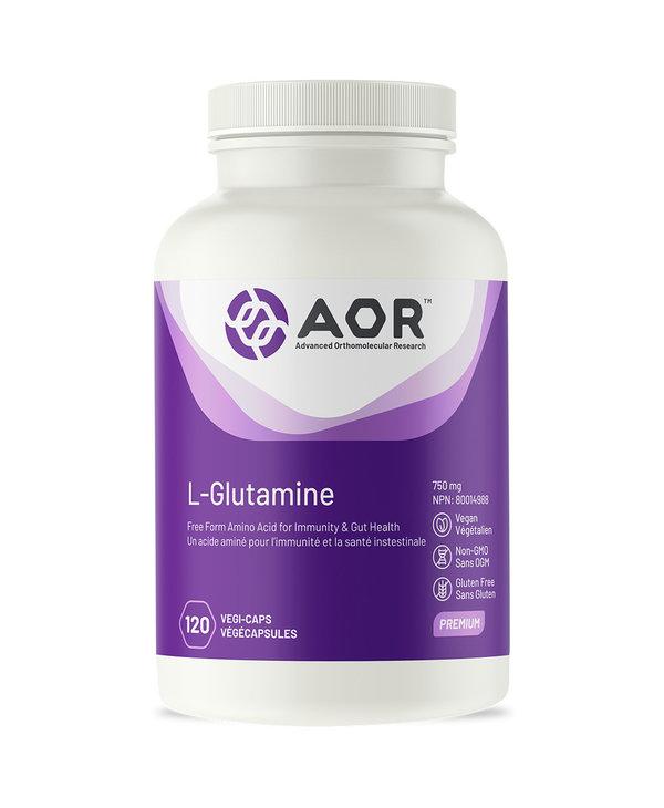 AOR - L-Glutamine - 120 V-Caps