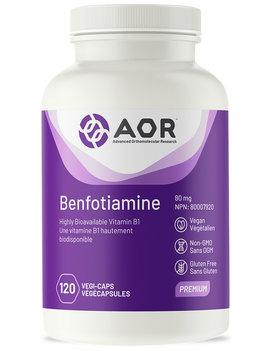 AOR AOR - Benfotiamine - 120 V-Caps