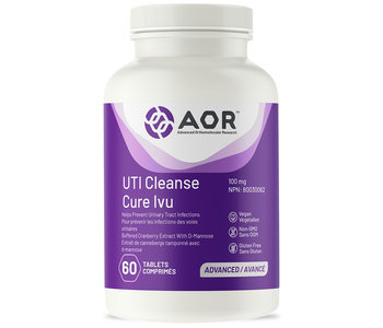 AOR - UTI Cleanse with Cranberry - 60 Tabs