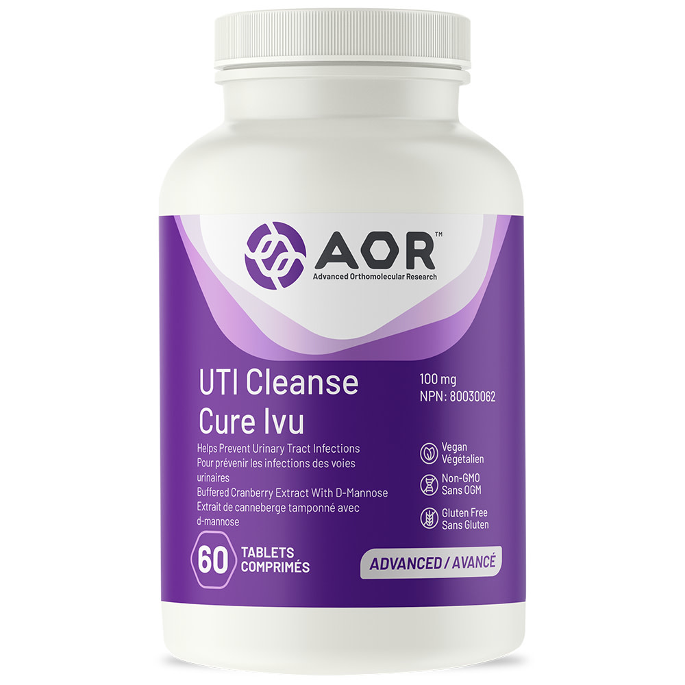 AOR AOR - UTI Cleanse with Cranberry - 60 Tabs