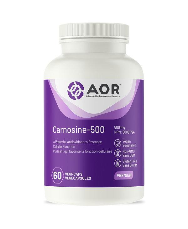 AOR - Carnosine-500 - 60 V-Caps