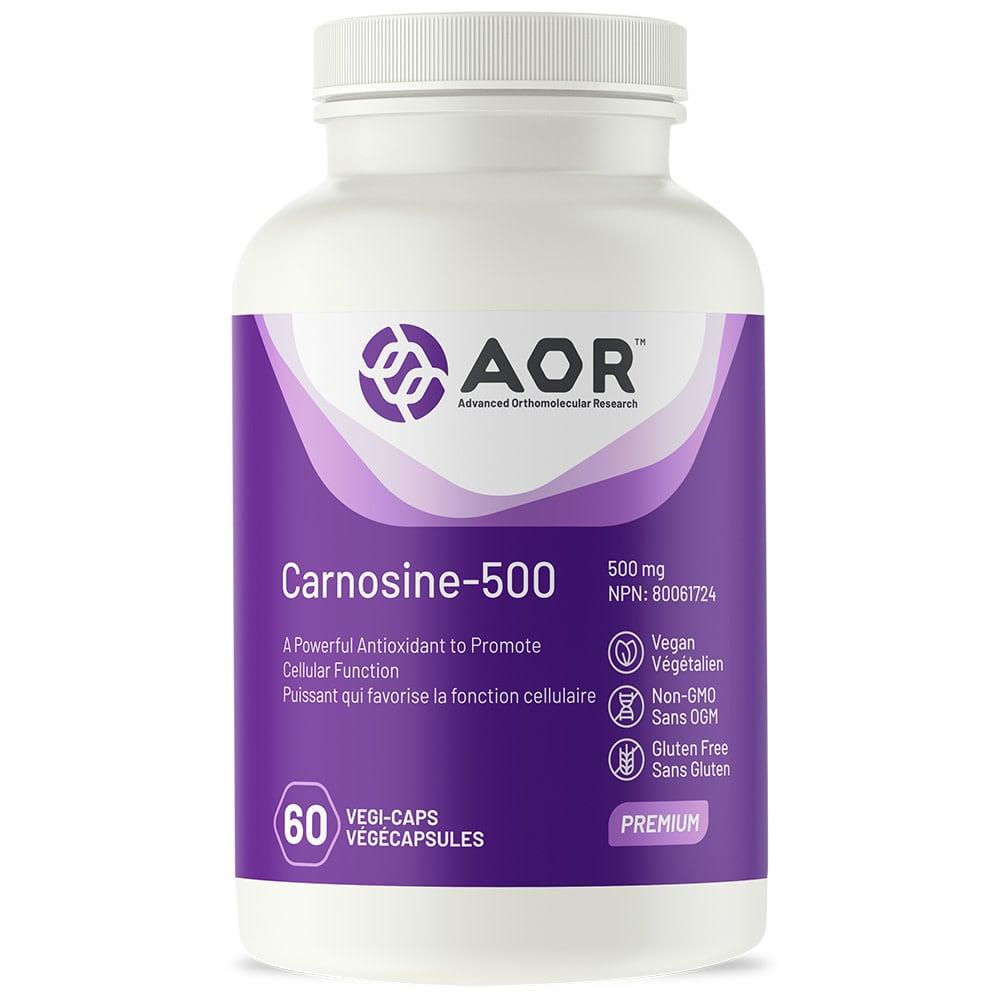 AOR AOR - Carnosine-500 - 60 V-Caps