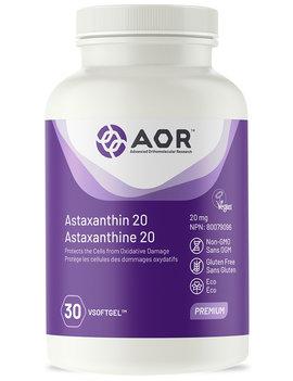 AOR AOR - Astaxanthin 20 - 30 vsoftgel
