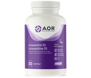 AOR - Astaxanthin 20 - 30 vsoftgel