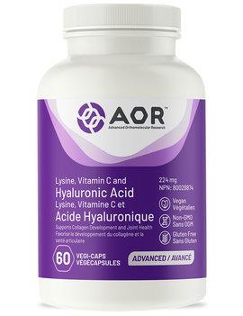 AOR AOR - Hyluronic Acid - 60 V Caps