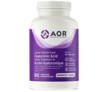 AOR - Hyluronic Acid - 60 V Caps