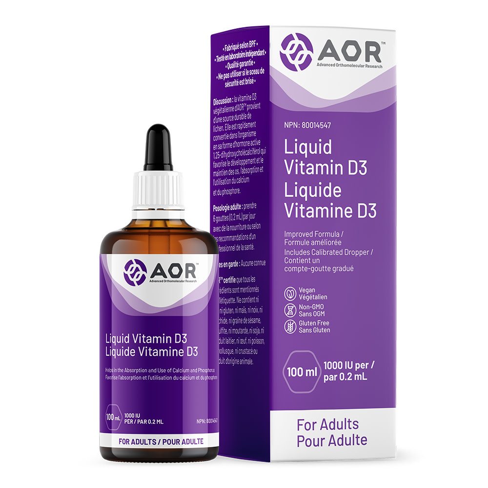 AOR AOR - Vitamin D Liquid - 100ml