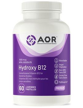 AOR AOR - Hydroxy B12 - 60 Lozenges