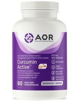 AOR AOR - Curcumin Active Fast Relief - 60 V-Caps