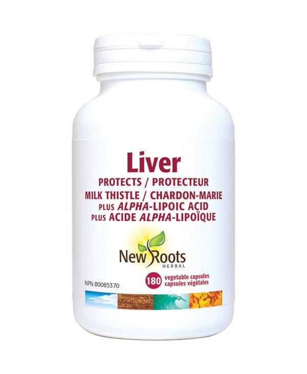 New Roots - Liver Milk Thistle + ALA - 180 Caps