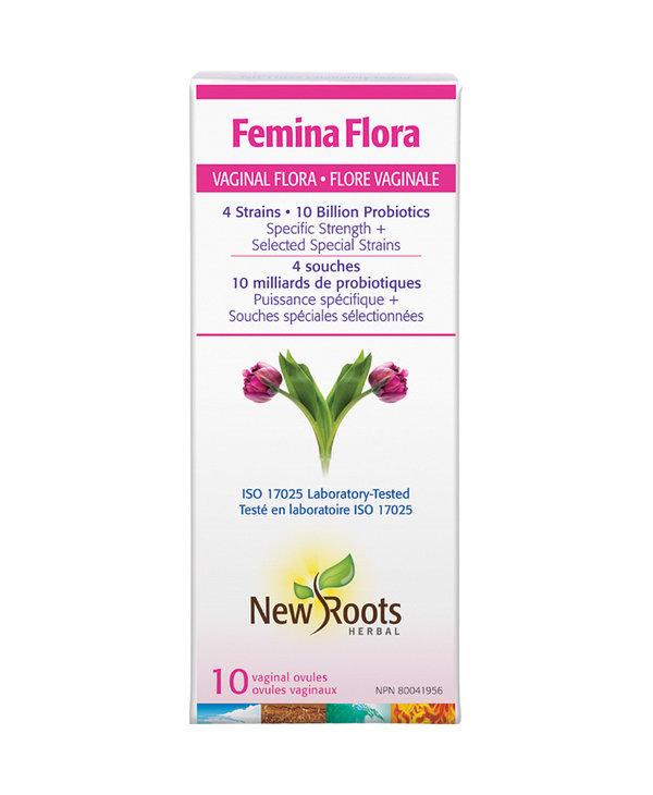 New Roots - Femina Flora - 10 Caps