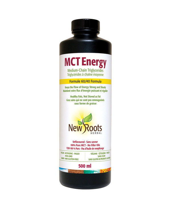 New Roots - MCT Energy Oil - 500ml