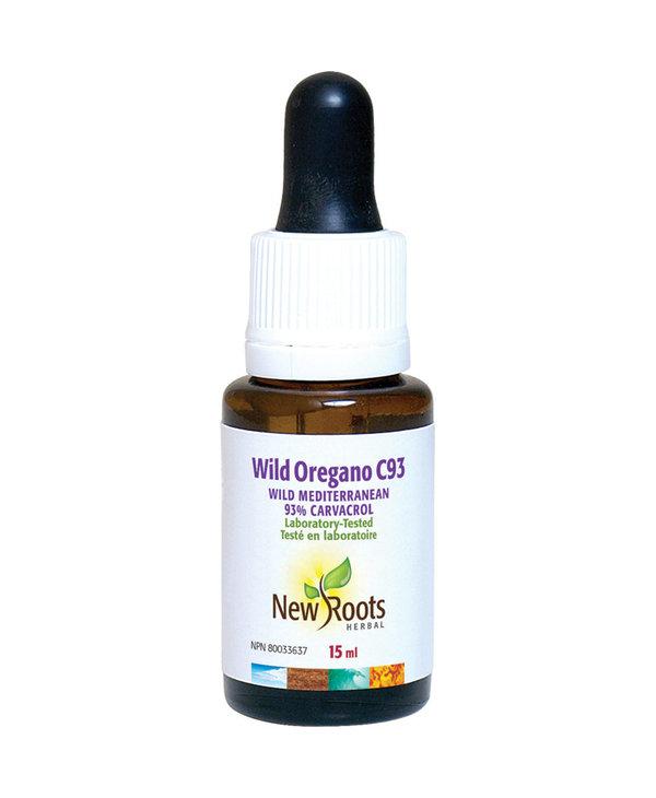 New Roots - Wild Oregano Oil C93 - 15ml