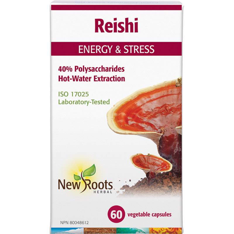 New Roots New Roots - Reishi - 60 V-Caps