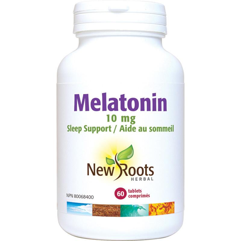 New Roots New Roots - Melatonin 10mg - 60 Tabs