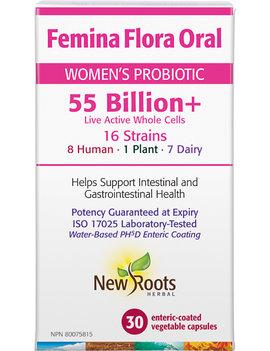 New Roots New Roots - FeminaFlora Oral 55Billion+ - 30 V-Caps