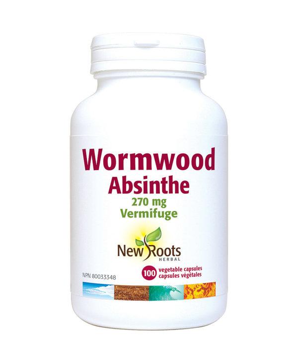 New Roots - Wormwood - 100 V-Caps