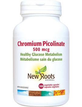 New Roots New Roots - Chromium Picolinate 500 mcg - 100 V-Caps